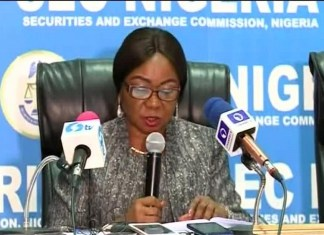 Like Oando, SEC investigates, SEC's e-dividend mandate criticised for being difficult  Lafarge Africa, Do not put all your eggs in one basket - SEC warns investors , E-Dividend: 2.820 million investors enrolled on e-DMMS in Q3'19, SEC reaffirms commitment to promote Commodities Trading, SEC threatens to suspend outdated accounts, move to address unclaimed dividends