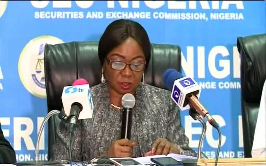 Like Oando, SEC investigates, SEC's e-dividend mandatecriticisedfor being difficult Lafarge Africa, Do not put all your eggs in one basket - SEC warns investors, E-Dividend:2.820 million investors enrolled on e-DMMS in Q3'19, SEC reaffirmscommitmentto promote Commodities Trading, SEC threatens to suspendoutdated accounts, move to addressunclaimed dividends, Wonder bank clampdown: Ponzi scheme operators lose N2.35 billion assets toSEC. SEC to strictly regulate crowdfunding, issues new rules