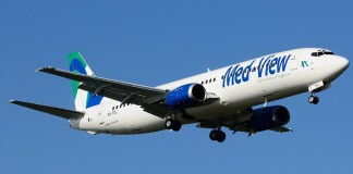 Rise and fall of Med-View Airline