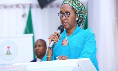 Finance, Ministaer, vow to recover AMCON debt through issuance of promissory notes, FG reiterates stance on IPPIS as ASUU threatens strike, Finance Minister, Zainab Ahmed identifies capital market as key driver for economic growth , Nigeria has paid $1.09 billion to service its debts in 2019  , Dividends on oil proceeds will be taxed - FG , State governments own most bad roads - Finance Minister says, Budget deficit increases by N351.98 billion, as FG misses revenue target, Economy: Funding MSMEs in Nigeria , Finance Bill: New tax regime to take effect from Jan 2 - FG , Again, Finance Minister argues that Nigeria is not in debt distress , ECOWAS: Single currency regime not kicking off in 2020  , FG: CBN holds N43 billion stamp duty charges collected by banks , FG may shift deadline to deactivate bank accounts without tax verification, Confusion as ministry and presidency disagree over Finance Act start date, 7.5% VAT: Implementation to begin Feb 1 – FG , Finance Minister: Nigeria to go into recession if ...