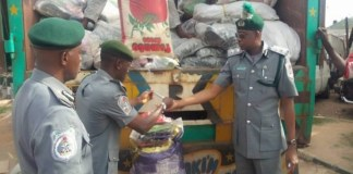 Amid border closure, Customs seize smuggled rice, other goods worth N43 million