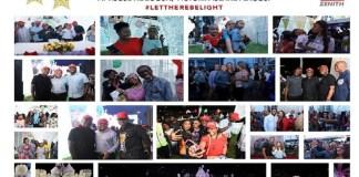 Zenith Bank heralds yuletide season with Light-Up of Ajose Adeogun Street, Victoria Island, Lagos