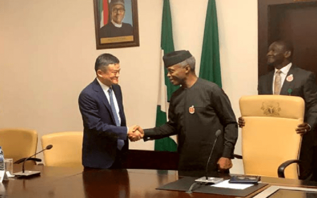 Jack Ma visits Nigeria, highlights investment prospects