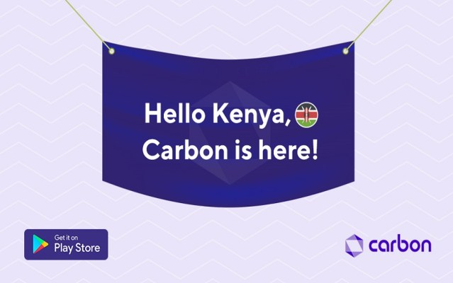 Carbon launchesin Kenya, promises to provide purposeful lending