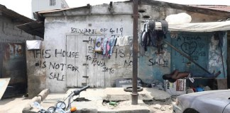 Nigerian lawyer pays N200 per night in uncompleted building to survive