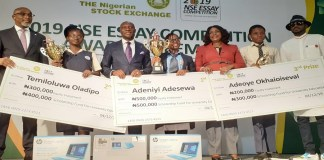 Three students win N1 million equity, N1.2 million edufund at NSE Essay competition