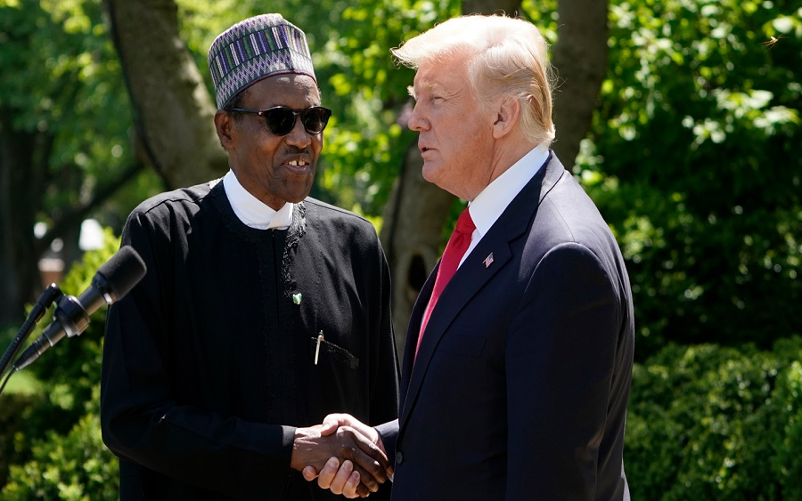 US Travel BanonNigerians: Buhari says it's mere speculation, Pres.Buharisets up committee in response to US travel ban on Nigerians, The United States and Nigeria hold talks on commercial and investment dialogue in Washington D.C