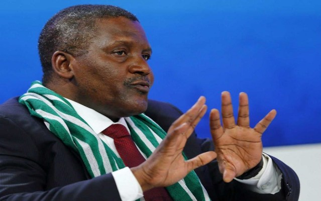 Dangote finally addresseshow he amassed his wealth without father's money