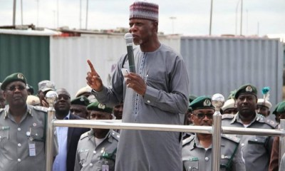 NAHCO reacts to $8.06 million intercepted by Customs at Lagos Airport, Audit Query: Customs CG disagrees with AGF over N28bn unremitted funds. Nigerian Customs Service to distribute N3.2 billion food items