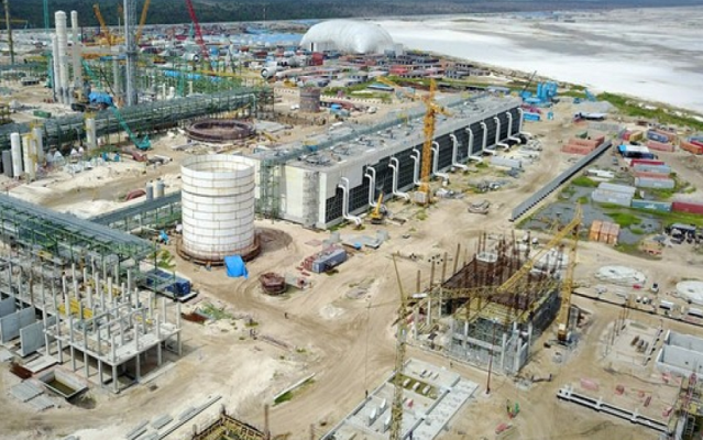 Dangote's multi billion-dollar refinery is 75% complete, Otedola says.