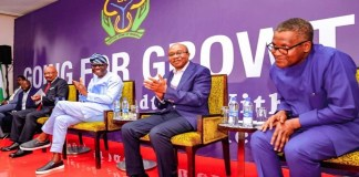 Diversification may no longer be possible in a few years – Dangote, Finance Minister, CBN's Godwin Emefiele, Dangote, Jim Ovia meet for life beyond oil