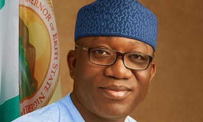 restructuring, Ekiti state government imposes curfew, full lockdown, Ekiti state slashes Right of Way charges for Telecom infrastructure from 4500 to 145, Ekiti State Secures UN and SHS Holdings partnerships to invest $2 billion for building 50,000 homes, Covid-19: FG must rethink financing of HealthCare- Fayemi