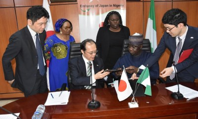 FG, Japan sign $18.2 million pact on disease control