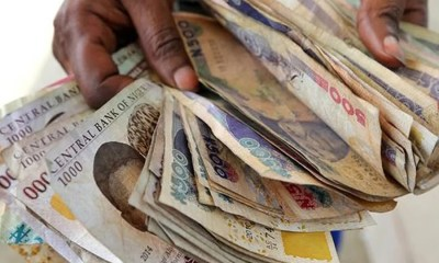The naira is falling, Naira to depreciate slightly over $1.52 billion maturing contracts expiring today, Naira drop slightly at black market, breaching its support levels, Naira falls against the dollar across all forex markets as liquidity drop by 84%