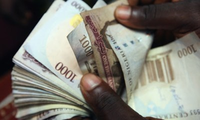 Naira remains stable at the black market, Brent crude moves past $40 per barrel