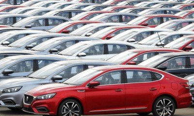 China auto sales up for 2nd straight month after 2-year slump