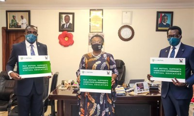 Old Mutual Partners Lagos to drive virtual learning across schools in the state