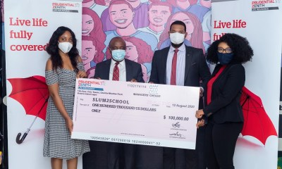 Prudential Zenith Life donates $100,000 USD to Slum2School towards fighting effects of COVID-19 in Nigeria