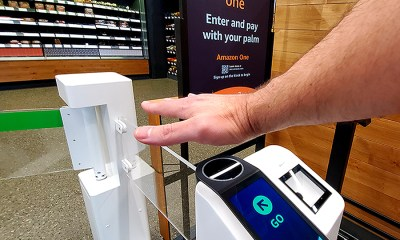 Amazon invents Palm reading Payment Technology for Shoppers.