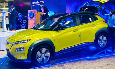 Sanwo-Olu launches Nigeria's first electric car, to complete Lagos-Badagry expressway