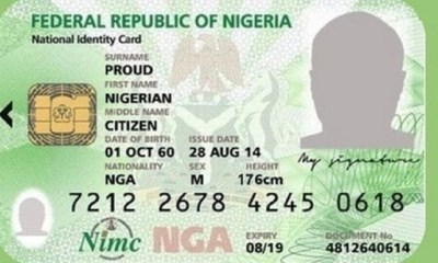 NIN, How to retrieve your National Identification Number – NIMC
