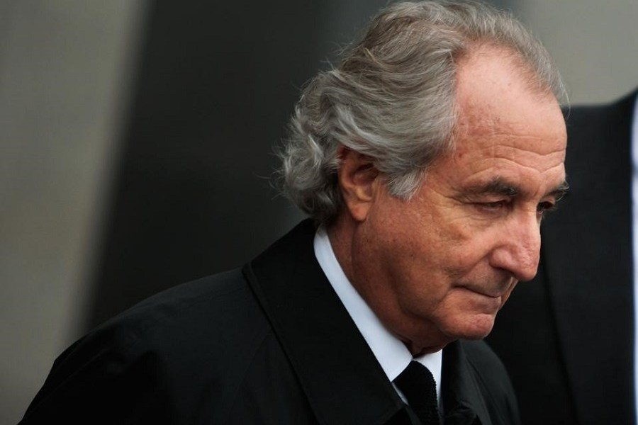 Bernie Madoff, mastermind of the historic $65bn investment ...