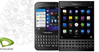 Etisalat BlackBerry Subscription.