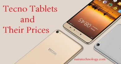 Tecno tablets and their prices