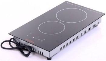 2-burner electric cooker