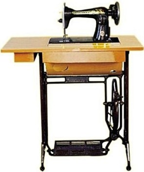 Automatic and Manual Butterfly Sewing Machine