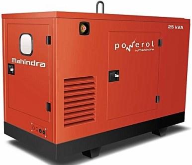 Mahindra 25kva diesel generator