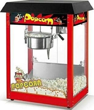 Black Top Popcorn Machine