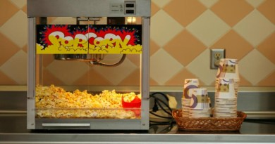 Popcorn machines features