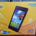 Tecno y2 features