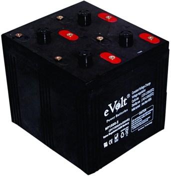 evolt 2v inverter battery