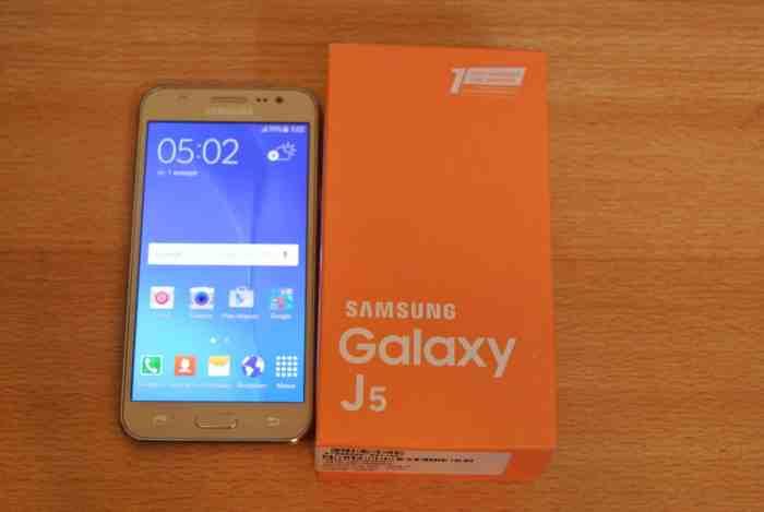 Samsung Galaxy J5 Specs
