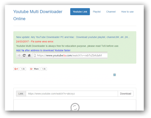 Playlist Downloader