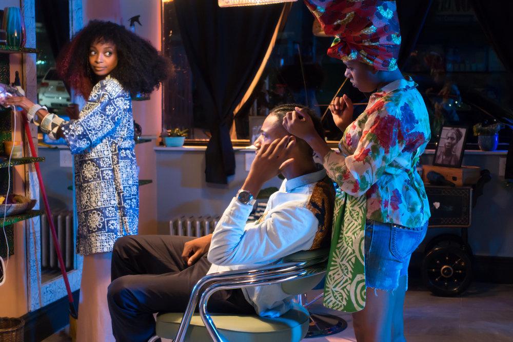 "Mariama Diallo Film ""Hair Wolf"""
