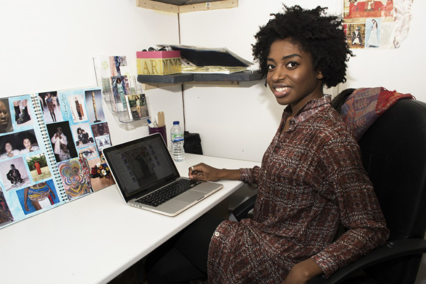 Meet British-Nigerian Young Talented Fashion Designer Elizabeth-Yemi Akingbade Founder of Yemzi Brand