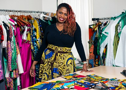 Kahindo Mateene Fashion Designer from Congo