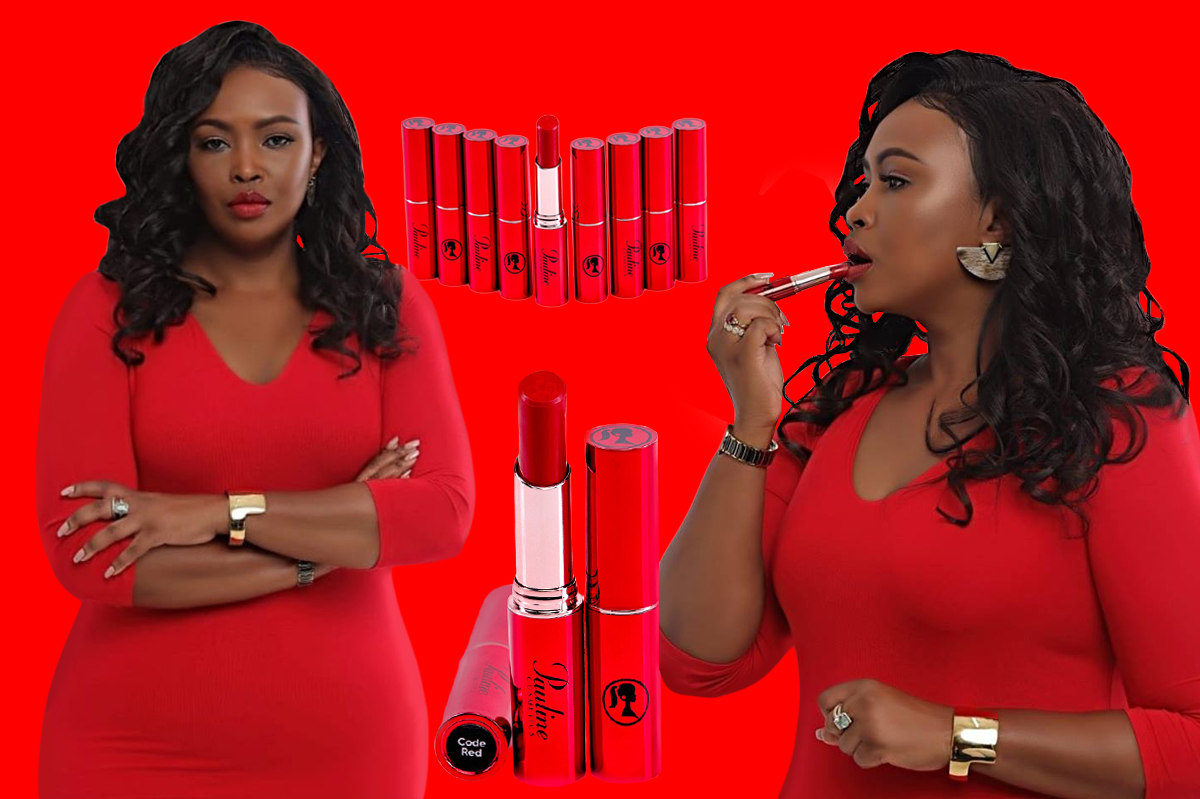 Caroline Mutoko Launches Her Lipstick Brand 'I AM'
