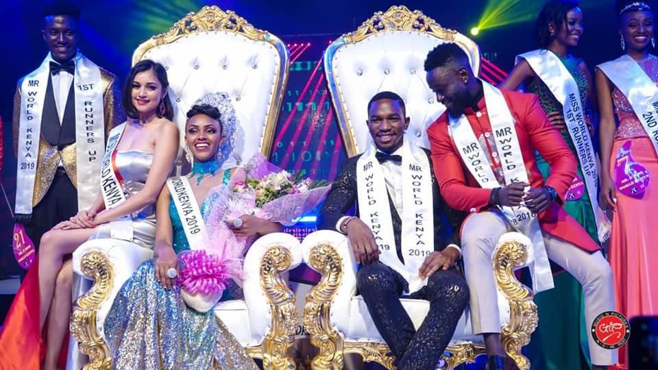 Winner of Mr & Miss World Kenya 2019 Beauty Pageant