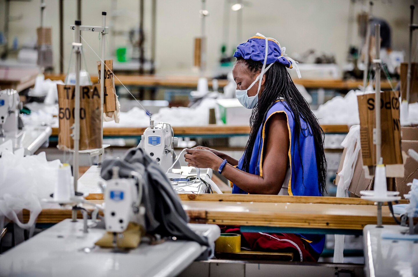 Kitui County Textile Centre ( KICOTEC ) Factory that Transformed into a Surgical Mask Assembly Line Overnight