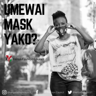Nairobi fashion hub Mask for all
