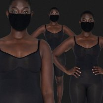 Nairobi fashion hub Kim Kardashian Face Masks in 5 shades of Nudes 1