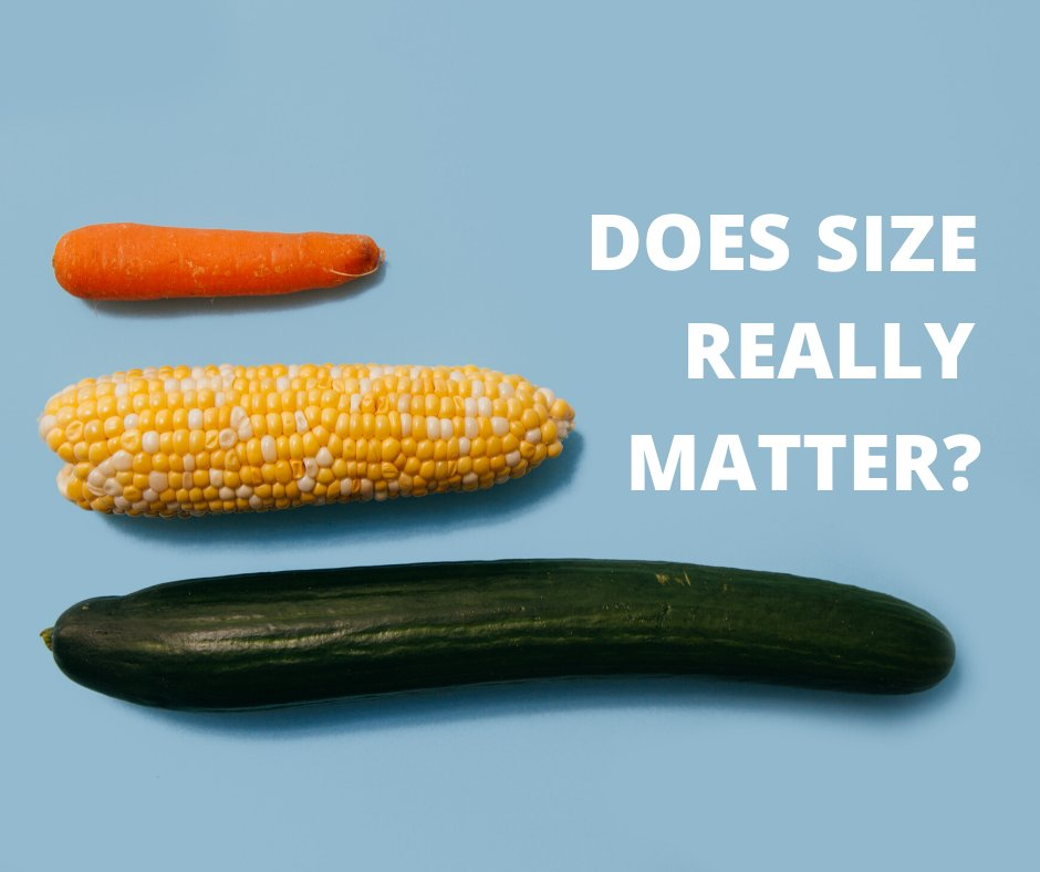 Does Size Really Matter, When it comes to Sex?
