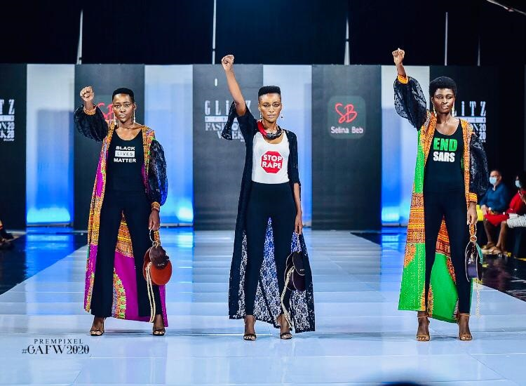 Selina Beb showcases new collection at Glitz Africa Fashion Week with a powerful message