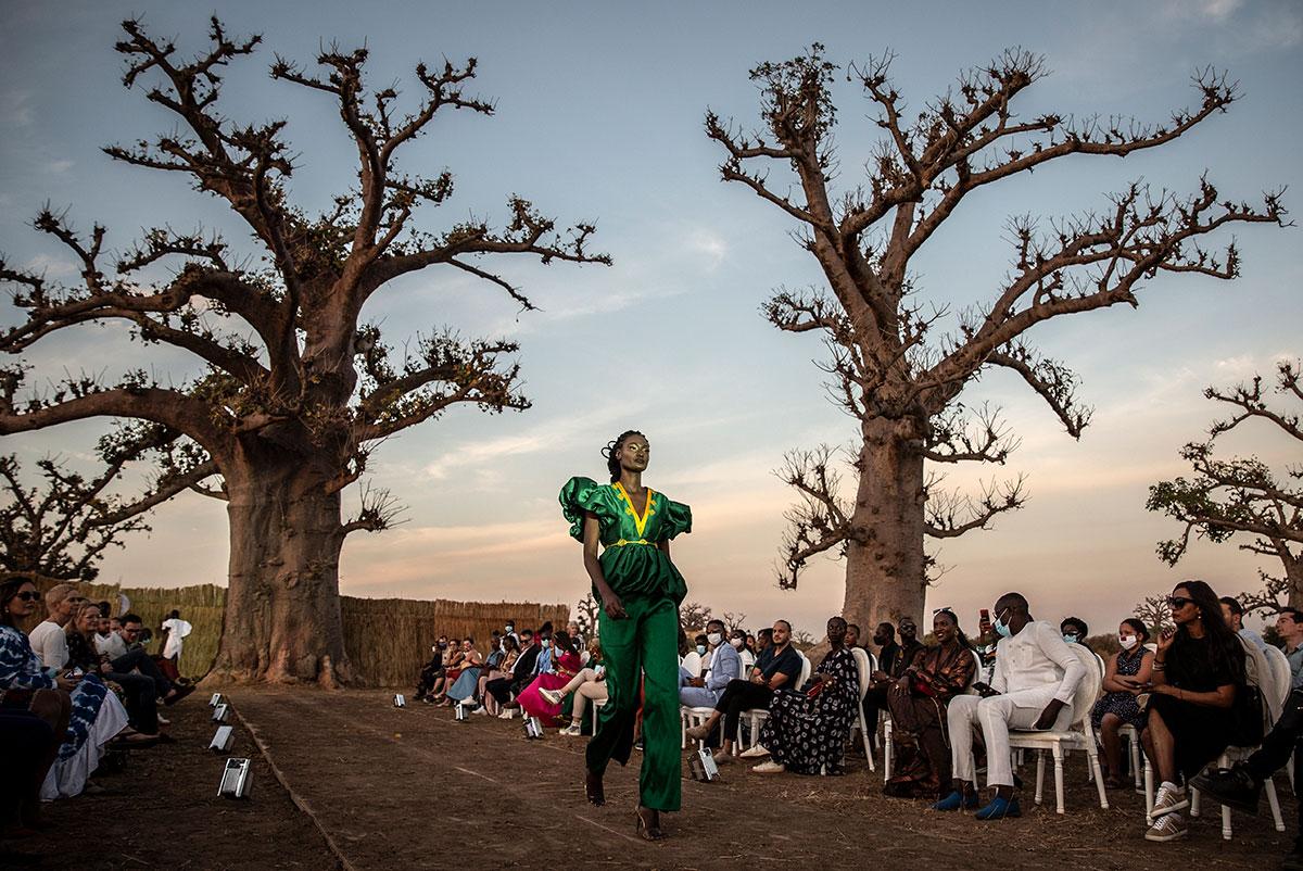Fashion Under The Baobab Trees Dakar Fashion Week takes catwalk outside and into a baobab forest