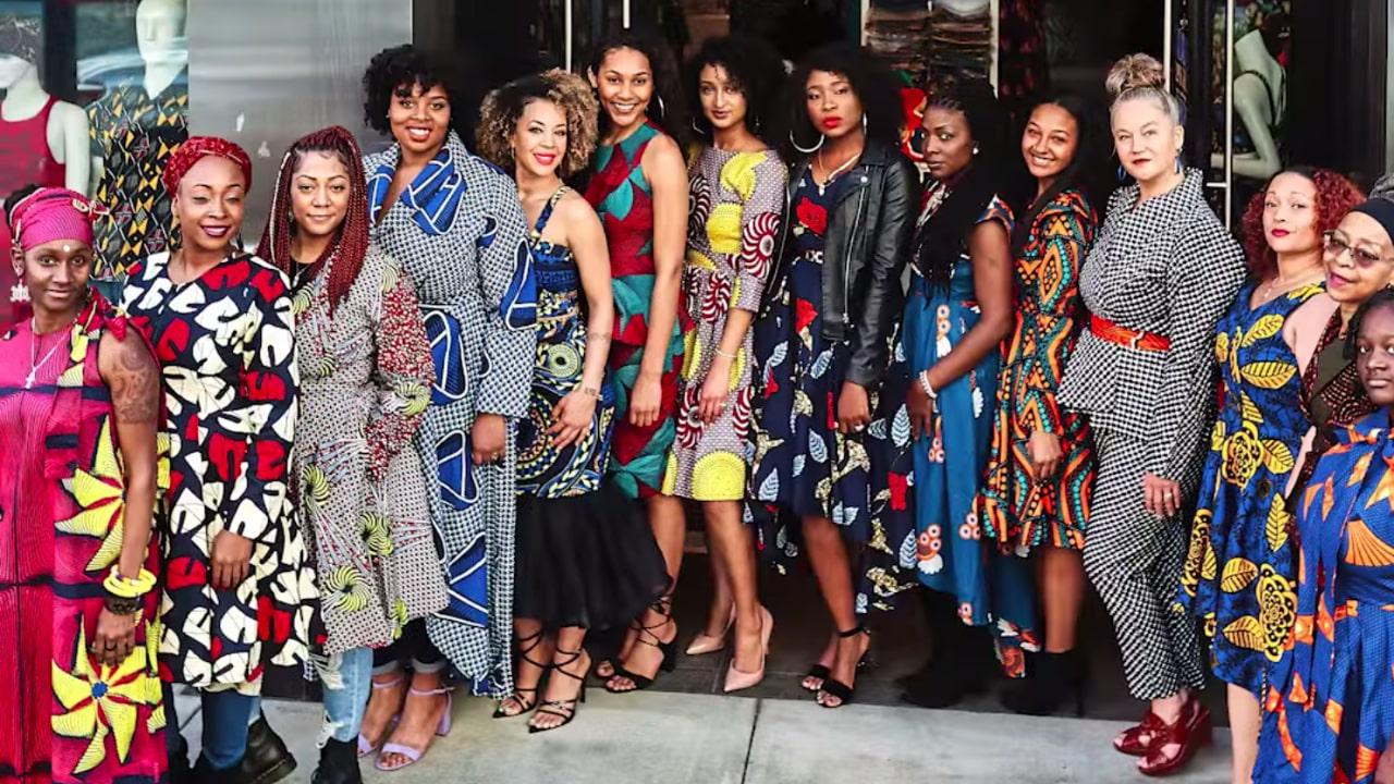 African Inspired Ankara Prints Get Modern Makeover