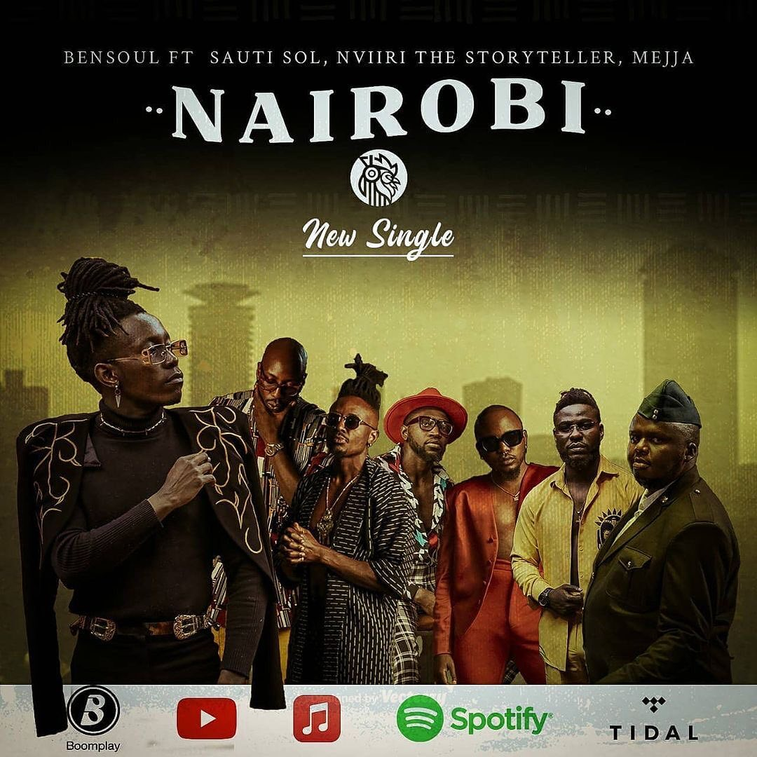 Bensoul FeaturingSauti Sol, Nviiri the Storyteller, Mejja –Nairobi Official Music Video